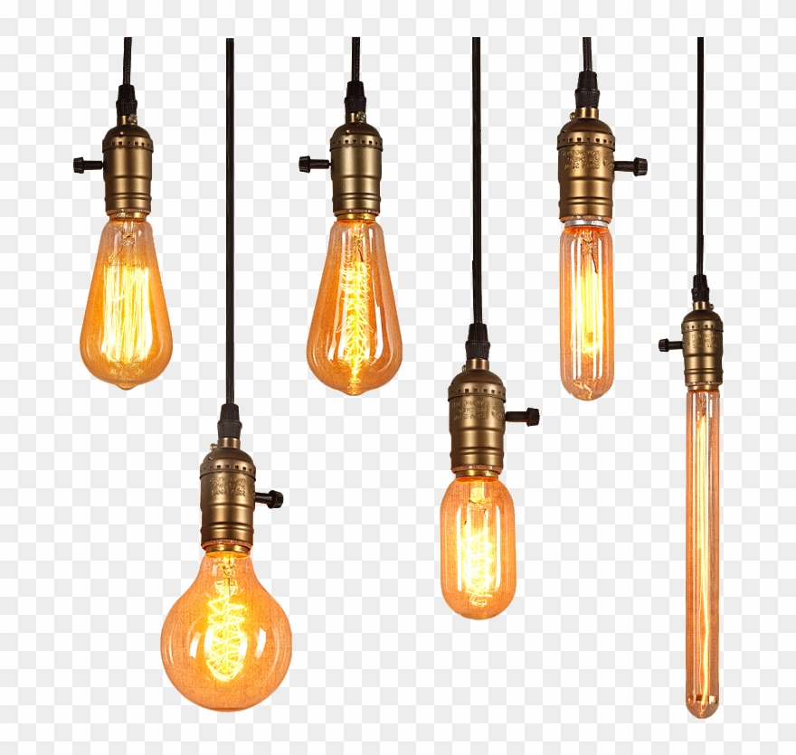 Light Edison Lighting Bulb Png Free Photo.