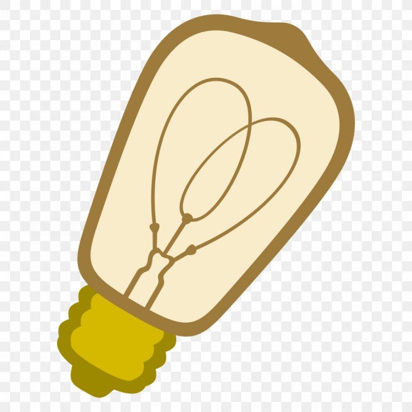 Incandescent Light Bulb Edison Screw Lighting Lamp, PNG.