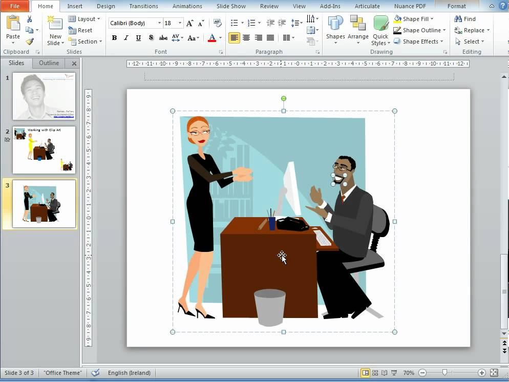 How To Change Color Of Clipart In Powerpoint 2010.