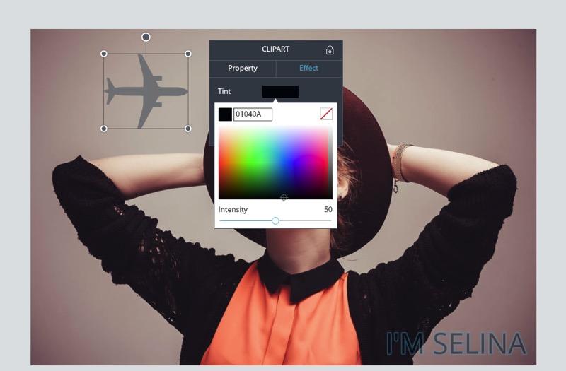 Edit clipart color.