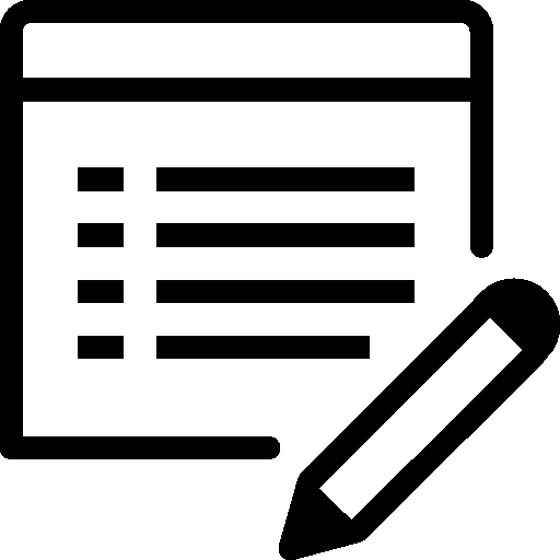 Programming Edit Property Icon.