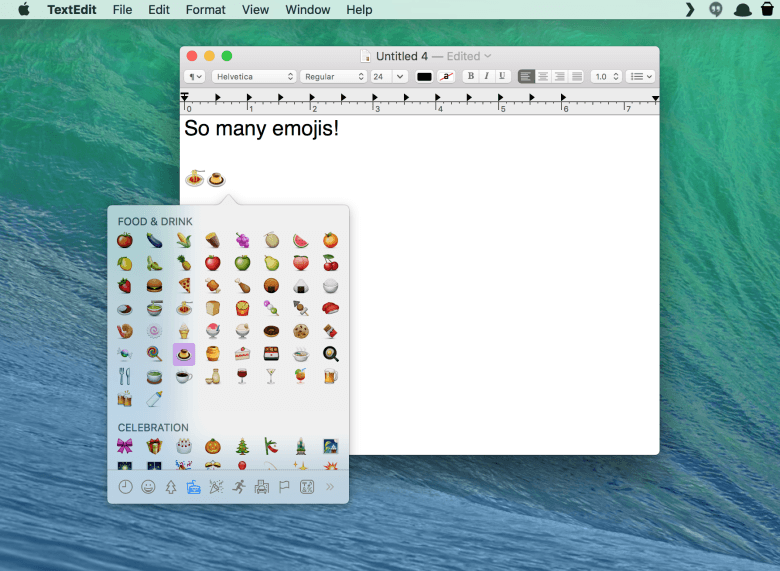 The easy way to add emojis to everything on your Mac.