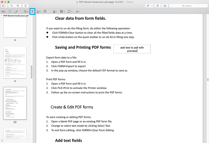 Edit PDF with Preview on Mac? Check How to Do it Now!.