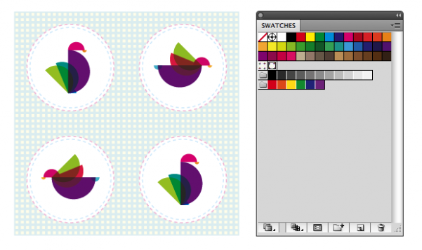 How to create fill patterns in Adobe Illustrator.