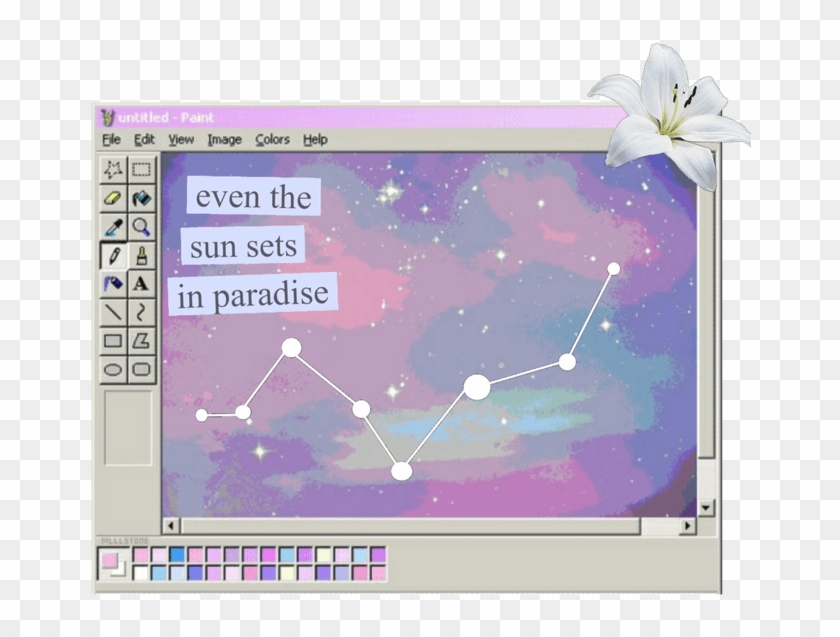 Png Tumblr Galaxy Aesthetic Editing Overlay.