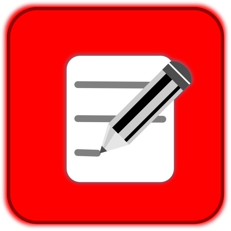 Free Clipart: Botón Editar 2.