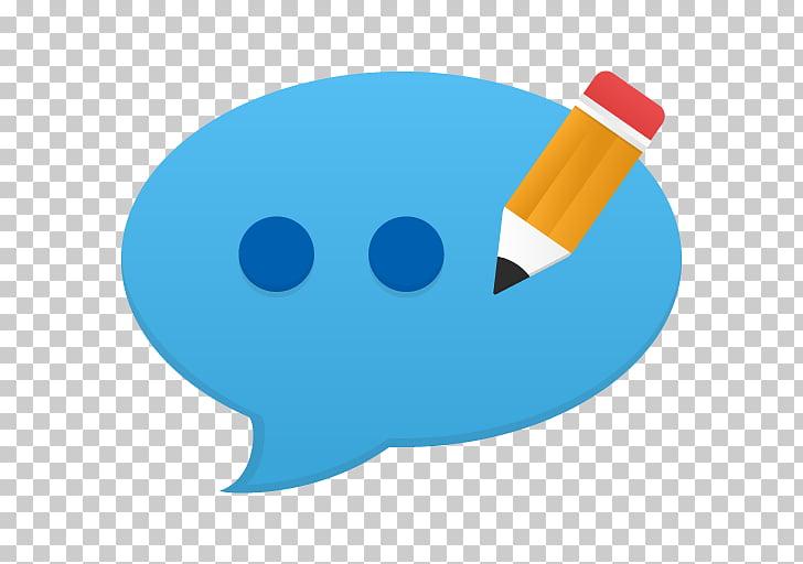 Lápiz, fuente azul, comentario editar PNG Clipart.