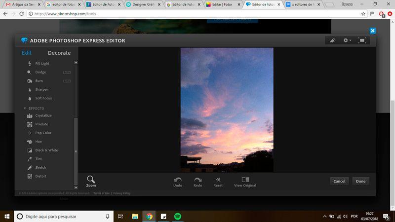 4 serviços GRATUITOS para editar fotos online.