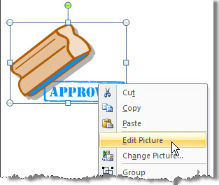 Clipart that can be edited.