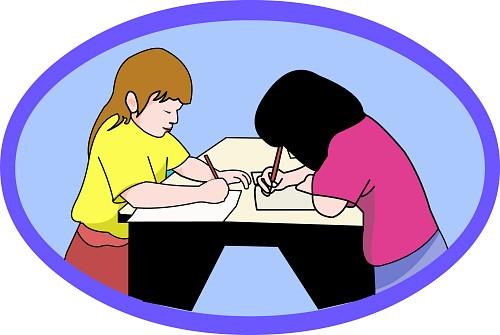Peer edit clipart.