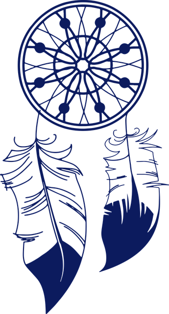 Free vector graphic: Culture, Dream Catcher, Feather.