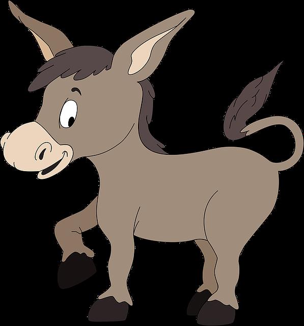 Free vector graphic: Burro, Donkey, Jackass.