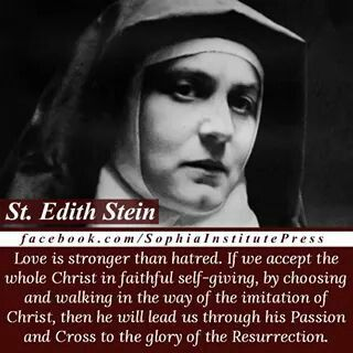 1000+ ideas about St Edith Stein on Pinterest.