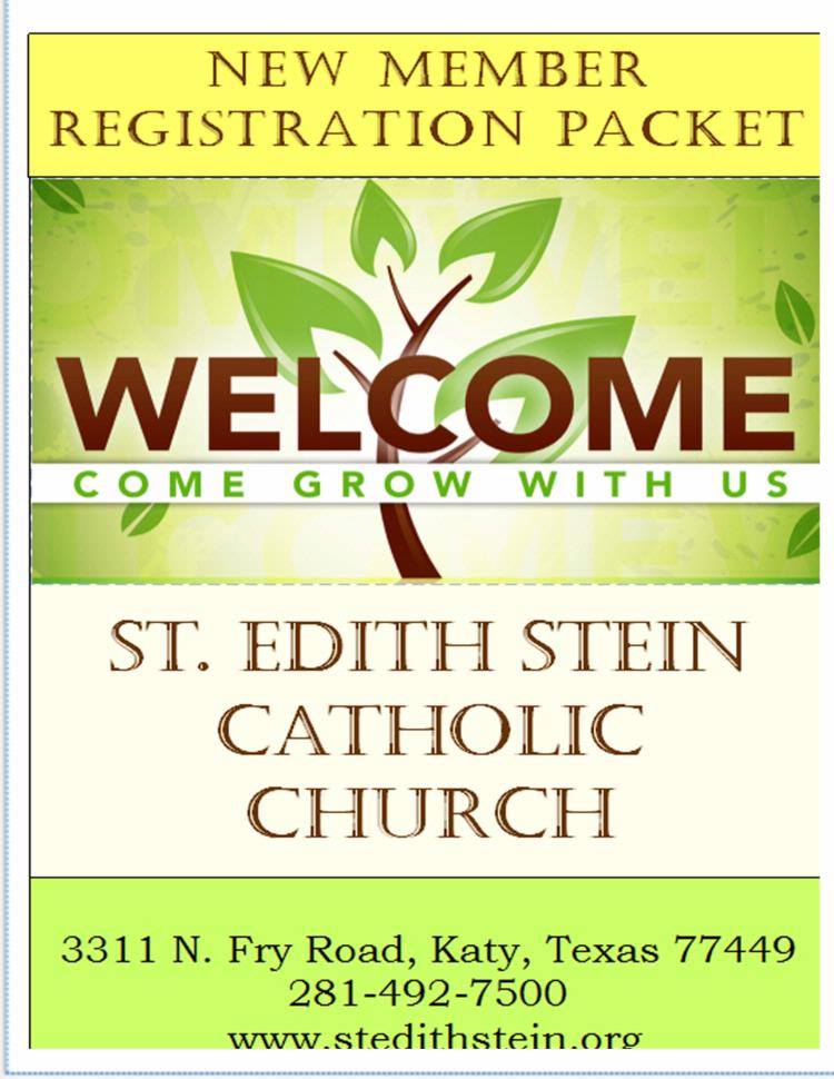 Join our Parish.