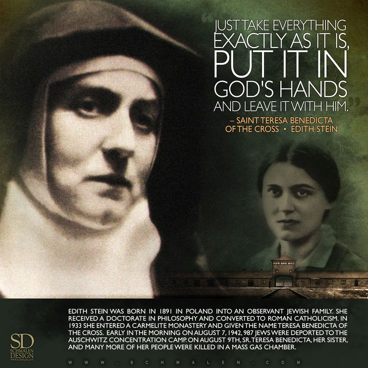 1000+ images about St. Teresa Benedicta (Edith Stein) on Pinterest.