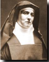 Saint Teresa Benedicta of the Cross, Edith Stein.
