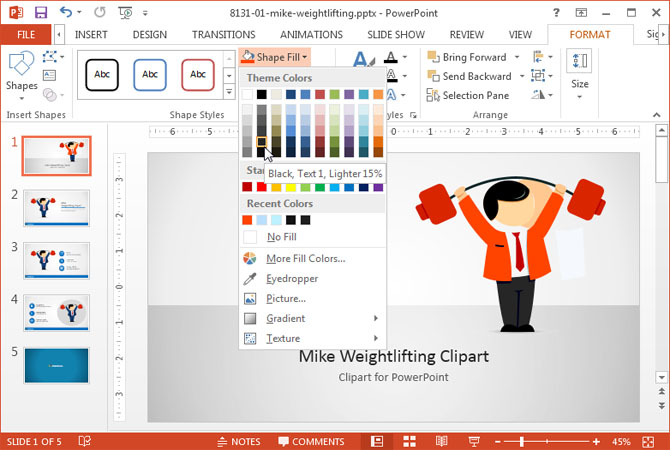 Editing Clipart In Powerpoint.