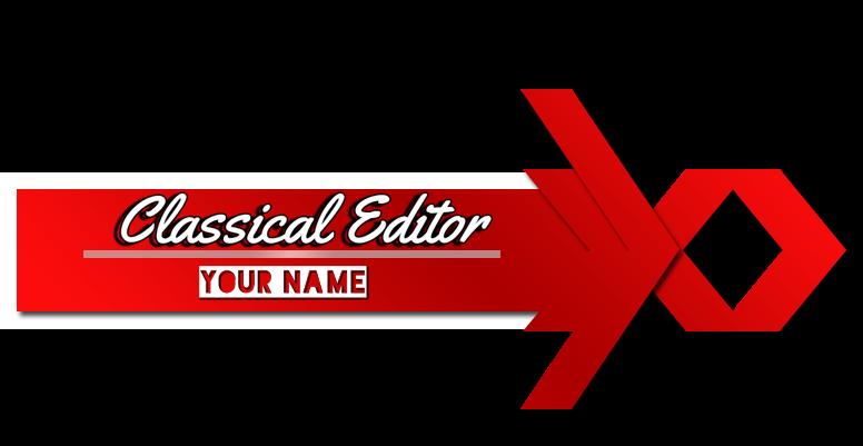 Classical Effective logo for Picsart.