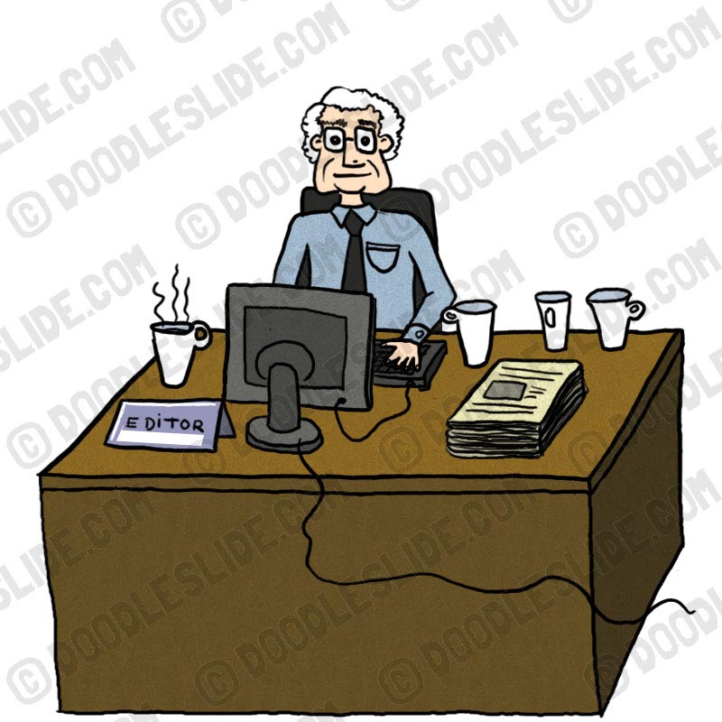 Editor clipart.