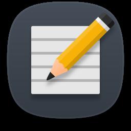 Accessories text editor Icon.