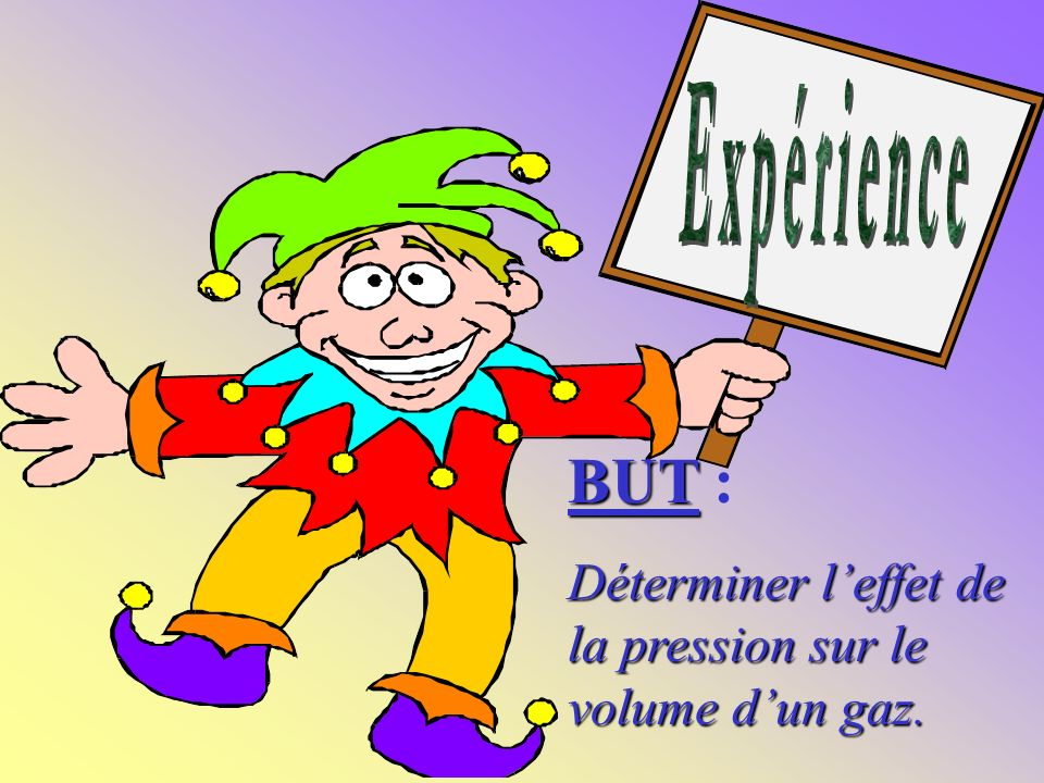 LP ROMPSAY LA ROCHELLE Loi de MARIOTTE Loi de Charles Loi des gaz.