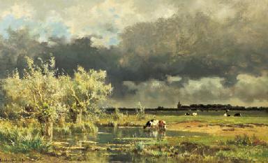 "Edmond ""de"" Schampheleer Works on Sale at Auction & Biography."