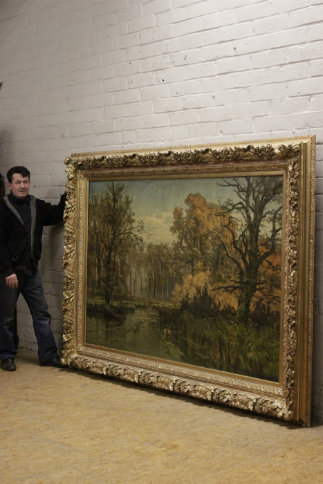 Exceptional painting signed by EDMOND DE SCHAMPHELEER dated 1885.