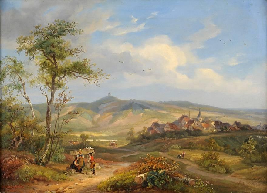 Пейзажи в живописи художников 19.