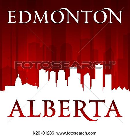 Clip Art of Cartoon Edmonton k18999697.