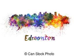 Edmonton skyline Stock Illustration Images. 36 Edmonton skyline.