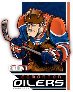 Edmonton Oilers Logo.