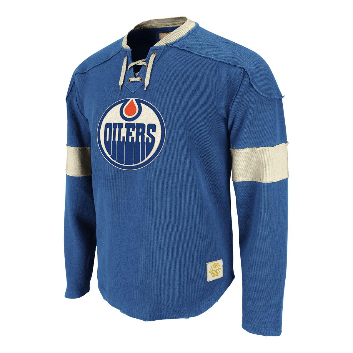 Edmonton Oilers Retro Sport Jersey (blue Haze).