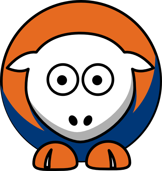 Sheep Edmonton Oilers Team Colors Clip Art at Clker.com.