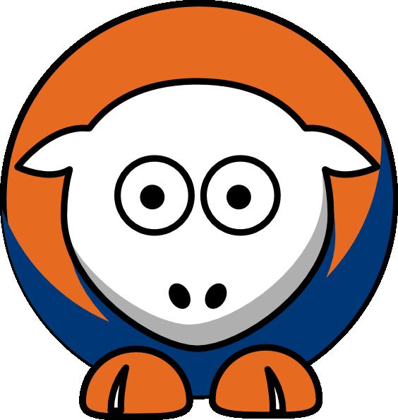 Sheep Edmonton Oilers Team Colors Clip Art at Clker.com.