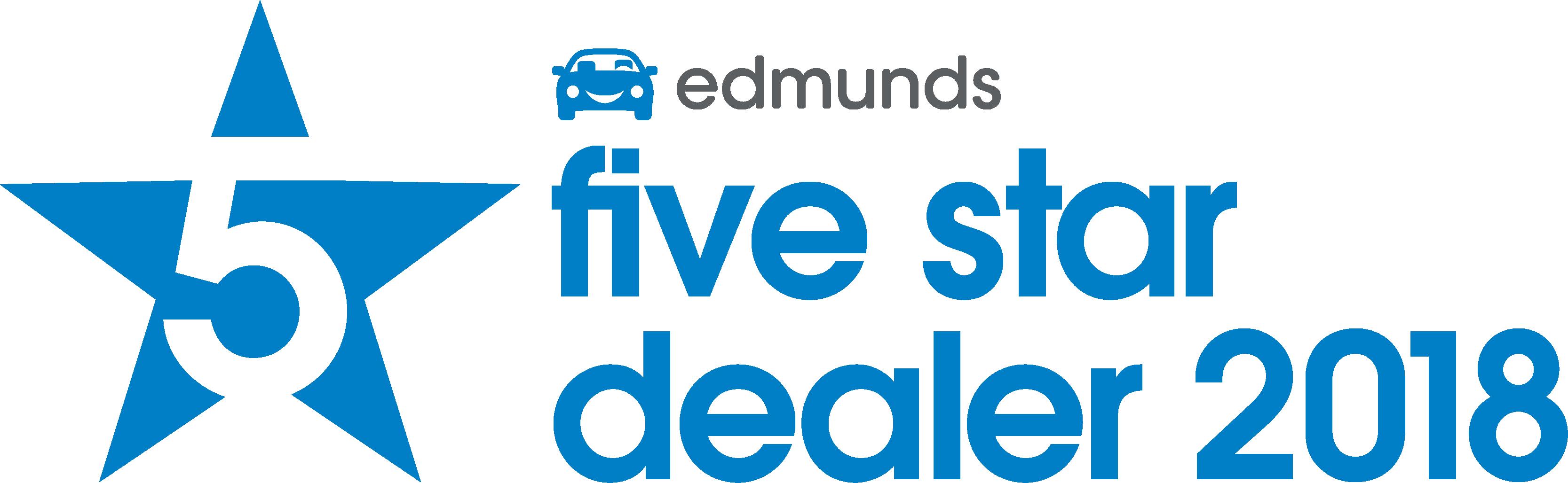 Edmunds 5 Star Dealer.