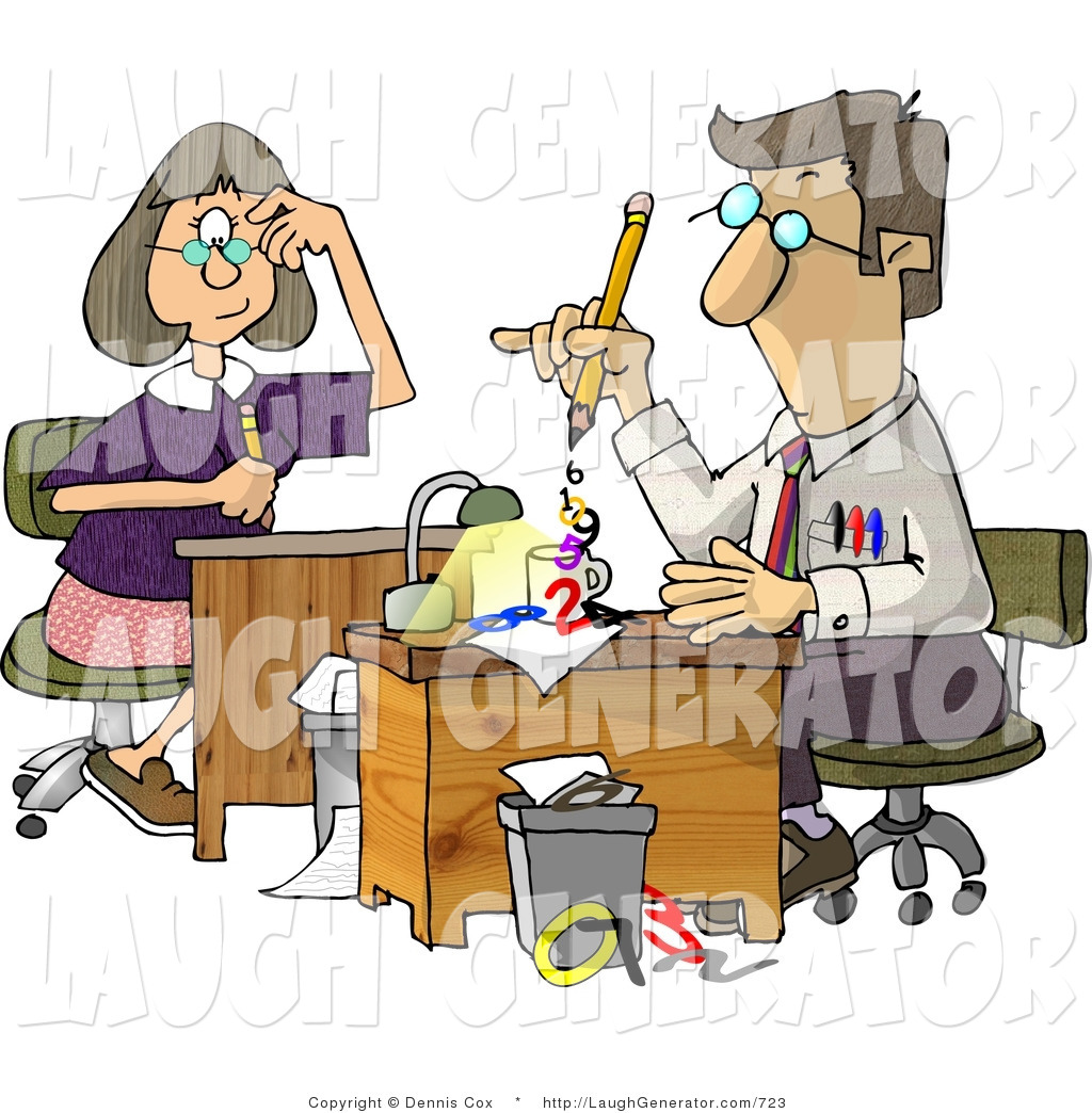 Funny Work Clipart.