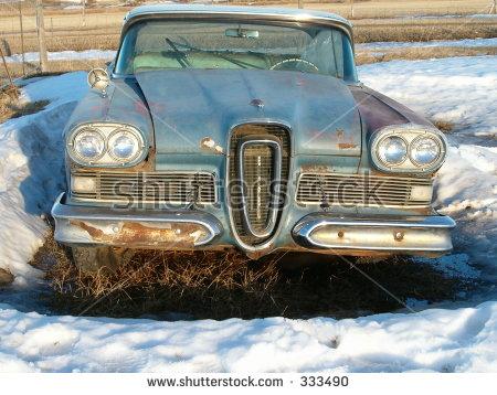 Edsel 1958 Stock Photos, Royalty.