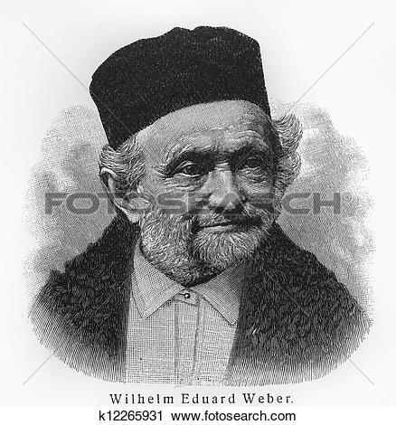Stock Photography of Wilhelm Eduard Weber k12265931.