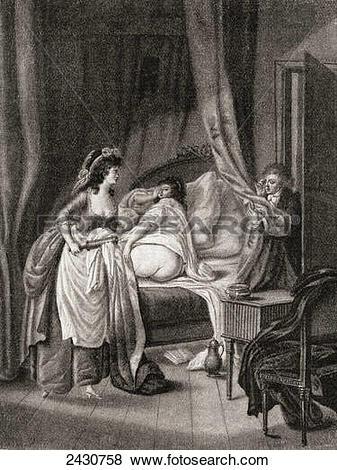 Pictures of The enema. From Illustrierte Sittengeschichte vom.
