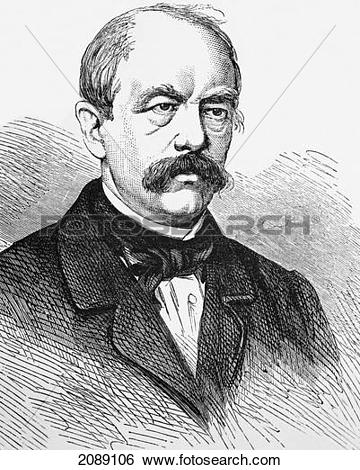 Stock Images of Portrait Of Otto Eduard Leopold, Prince Of.