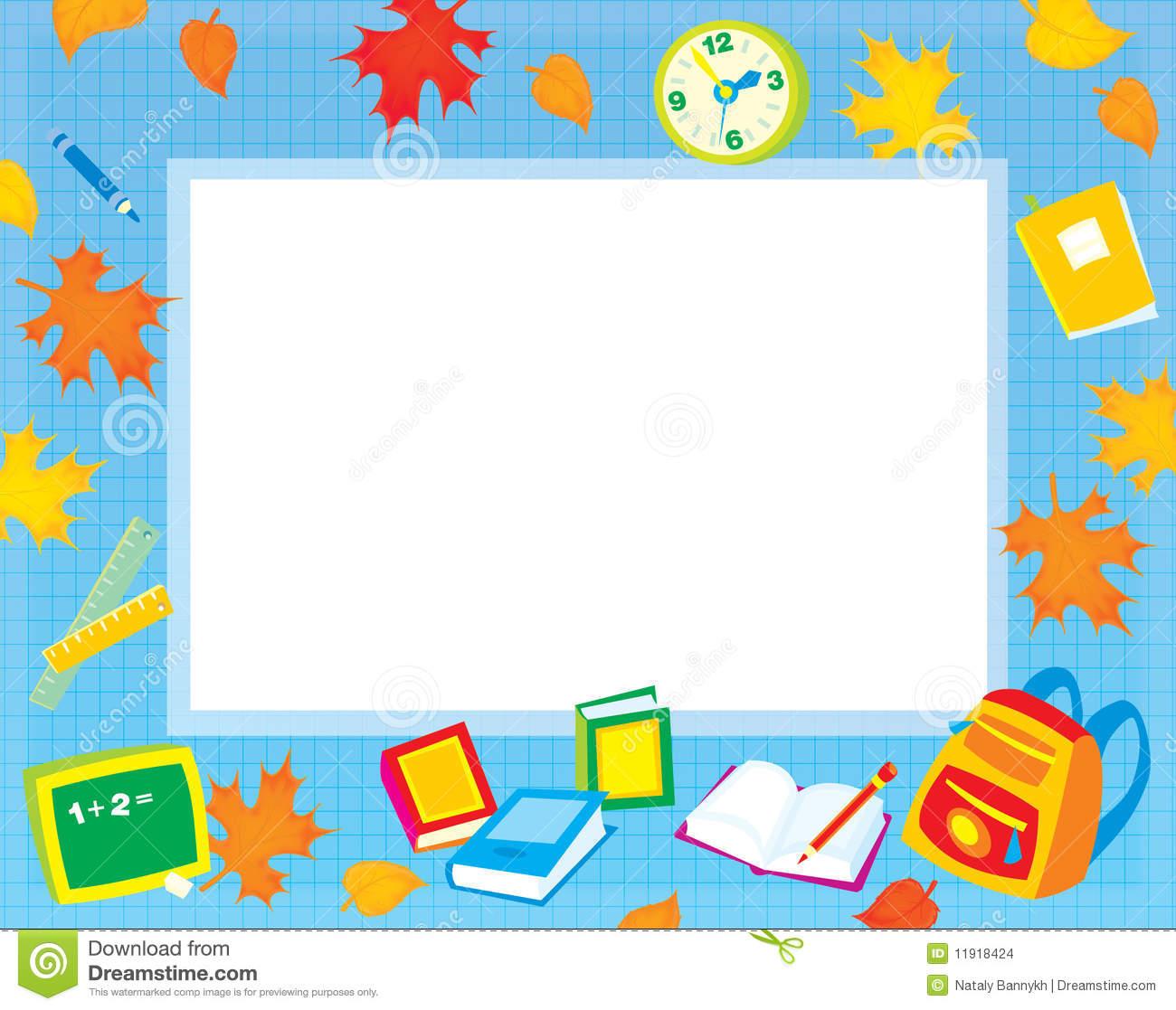 Elementary Education Border Clipart.