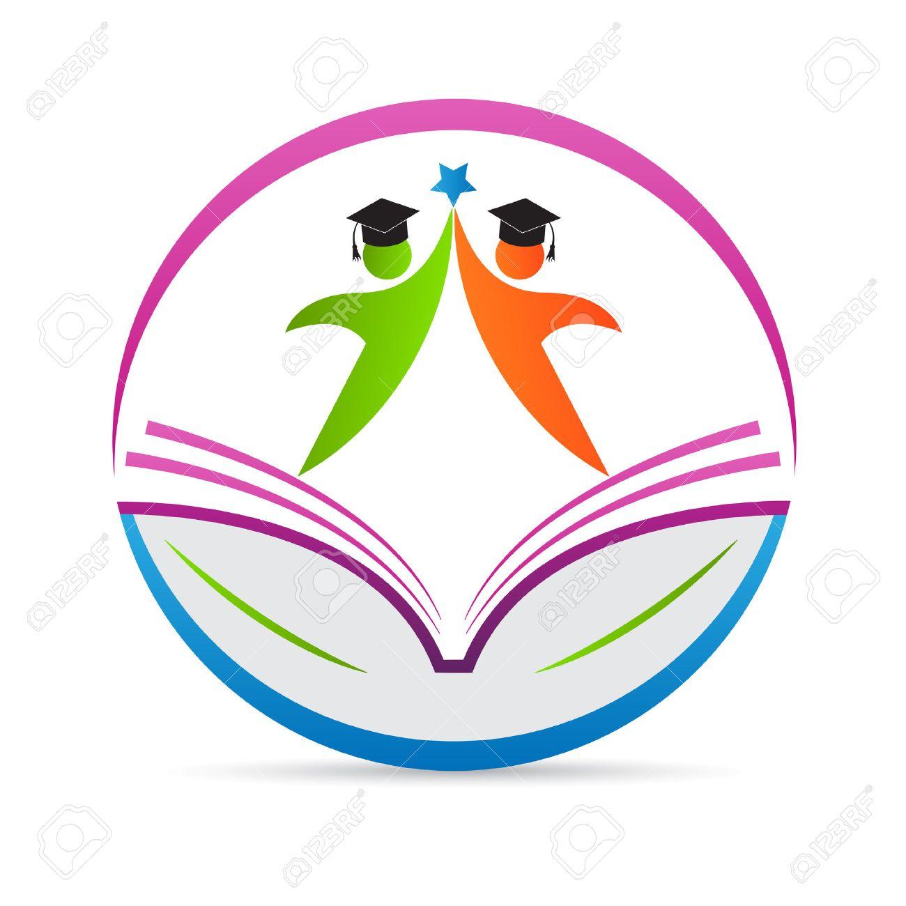 Education logo vector design represents school emblem concept..
