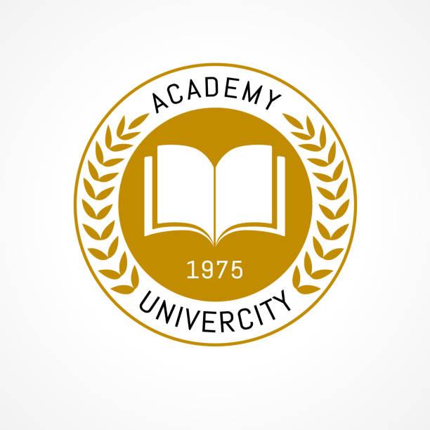 Best School Logo Illustrations, Royalty.