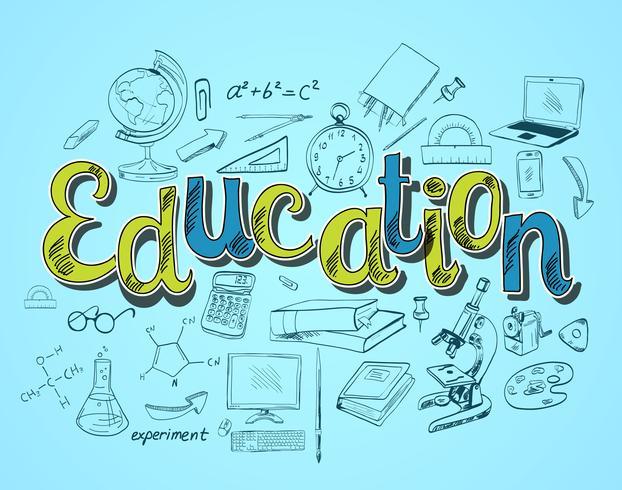 Education icon concept.