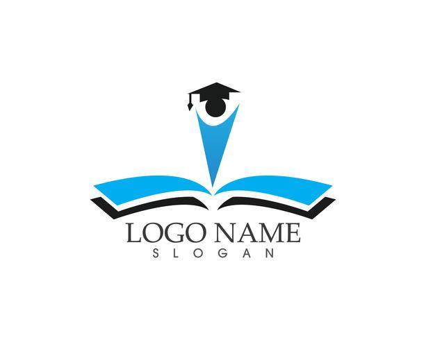 Education logo vector template.