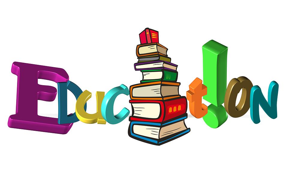 Education Books Letters.