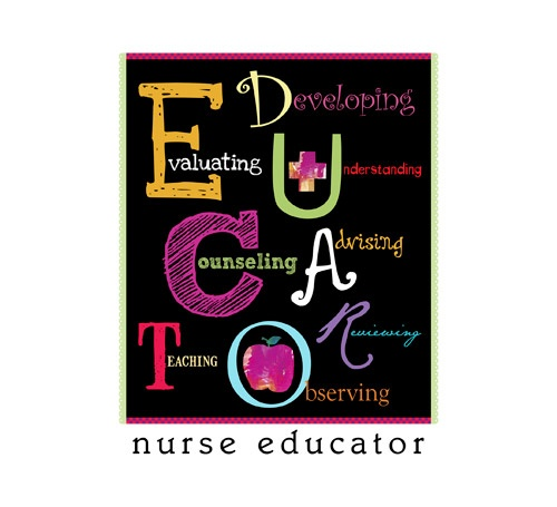 Nurse educator clipart.