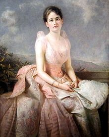 A portrait of Juliette Gordon Low (1887, Edward Hughes) located in.