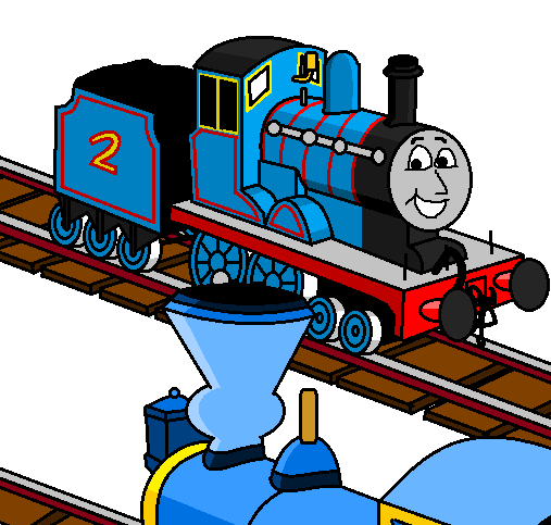 THE LITTLE ENGINE THAT COULD — *Upon returning to the yard, Tillie.