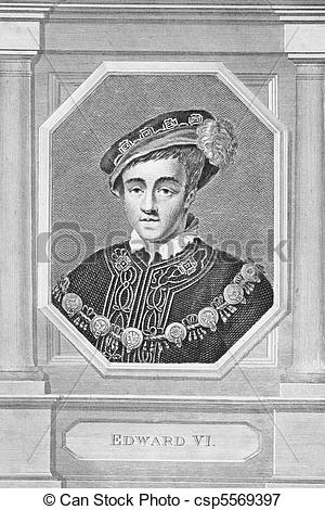 Picture of Edward VI King of England.